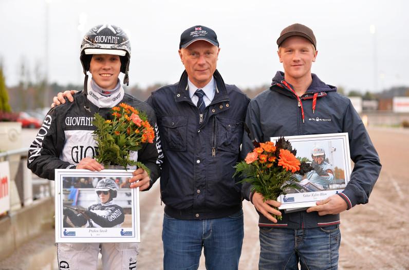 Stig H-stipendiaterna 2014. Oskar Kylin-Blom och Preben Sövik.