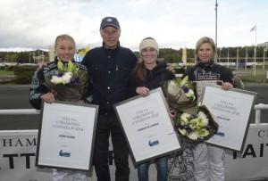 Stig H Johansson med stipendiater